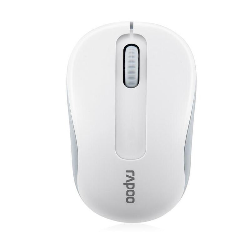 Original Rapoo Mini Optical Wireless Mouse Classical 3 Buttons 2.4G USB Receiver - Alilight.net