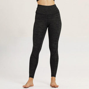 season and cold season explosions contrast stitching pants fitness leggings - Alilight.net