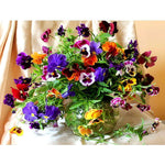5D Diamond mosaic diamond flowers & vases - Alilight.net