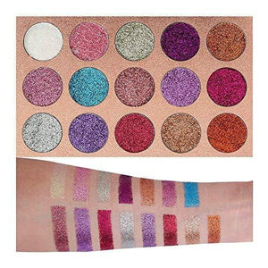 Beauty Glazed Ultra Pigmented Glitters No Glitter Glue Required Powder - Alilight.net