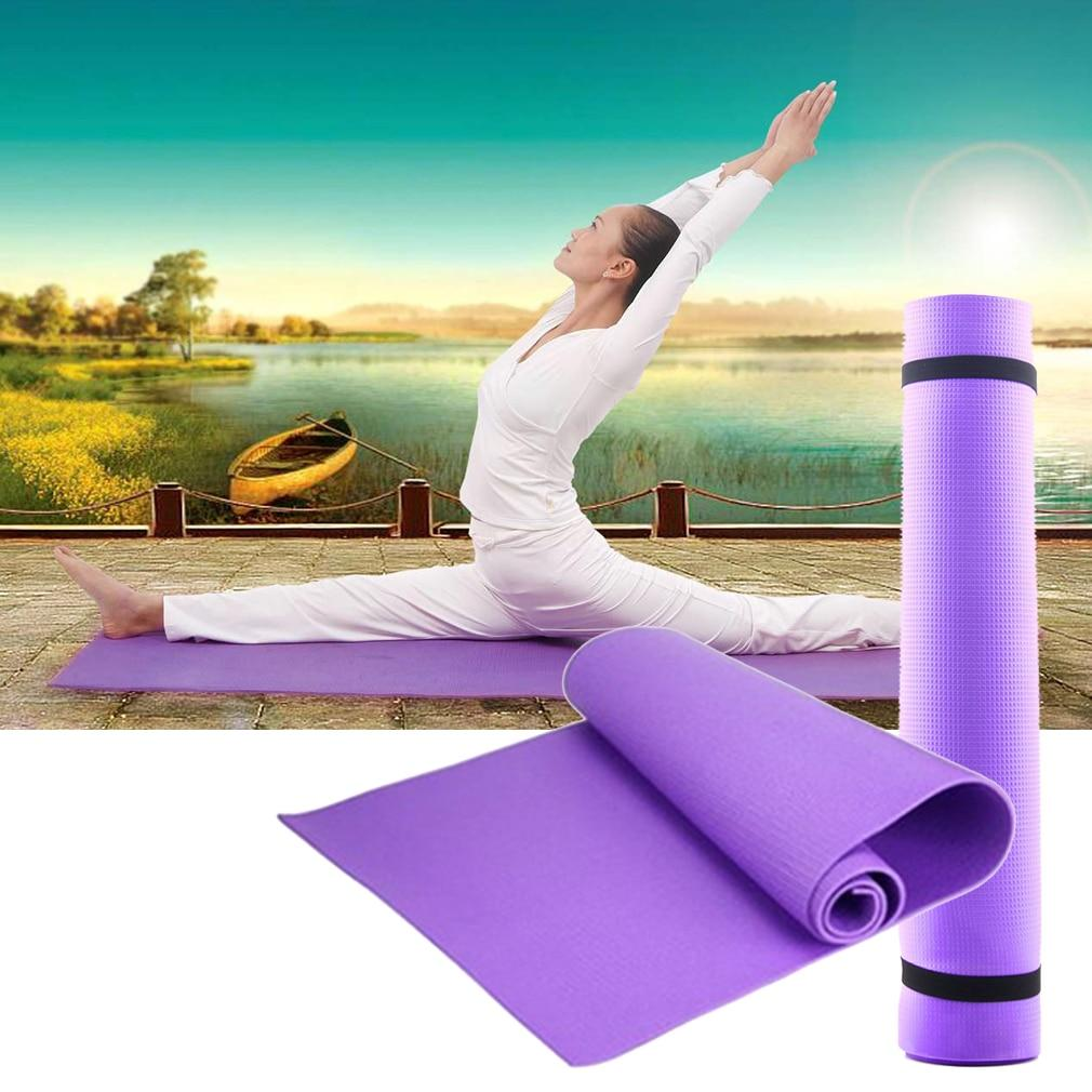 6MM Yoga Mat EVA Non-slip Fitness Slim Yoga - Alilight.net