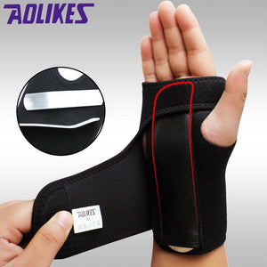 1PCS Adjust Wristband Steel Wrist Brace Wrist Support - Alilight.net