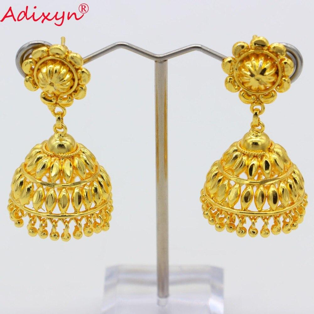 Adixyn New India Hollow Swing Bollywood Ethnic Earrings - Alilight.net