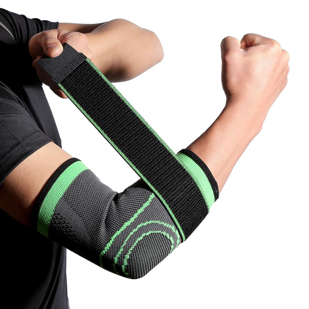 Breathable Bandage Compression Sleeve Elbow Support - Alilight.net