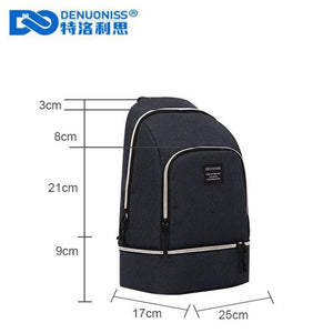 Creative Insulation Bag Slanting Cool Pack Picnic Bakcpack Multi-function Use - Alilight.net