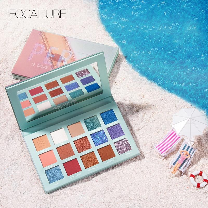 2019 Glitter Eye shadow palette professional pigmented powder shimmer - Alilight.net