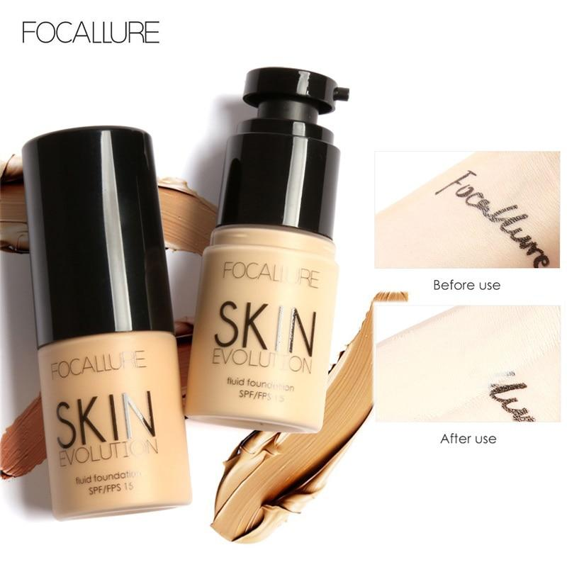 FOCALLURE Base Face Liquid Foundation Cream - Alilight.net