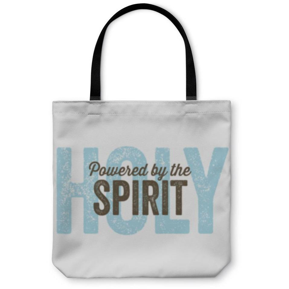 Tote Bag, Vintage Christian Design Spirit - Alilight.net