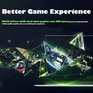 Gaming laptop 15.6inch Metal Body Intel i7  Windows 10 Notebook - Alilight.net