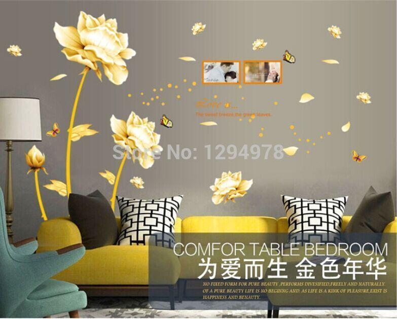 Golden Time Riches & Honour Flowers - Alilight.net