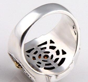 Sterling Silver Ring Exquisite Style 925 Finger Tide Ring - Alilight.net