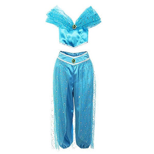 Jumpsuits & Rompers Womens Girls Jasmine Princess Dress up - Alilight.net