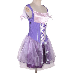 Women's Pricess Rapunzel Costume Tangled Cosplay - Alilight.net