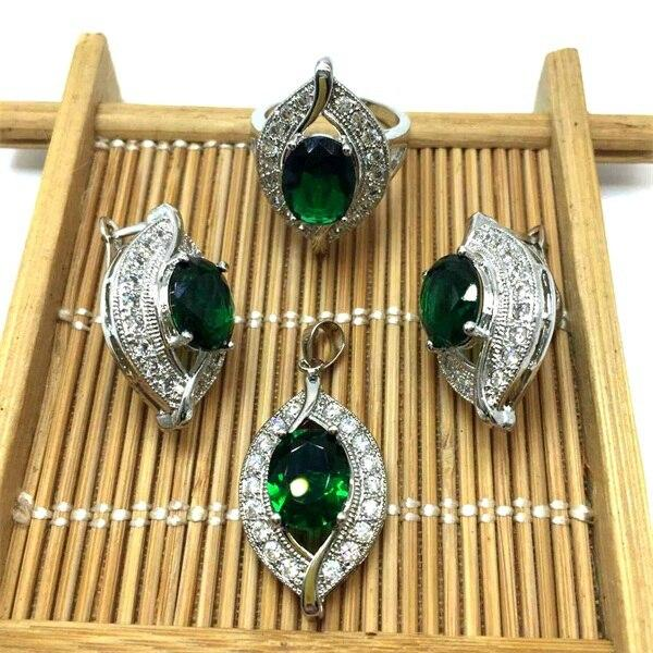 women accessories CZ Wedding African Bridal Simulated Gemstone - Alilight.net