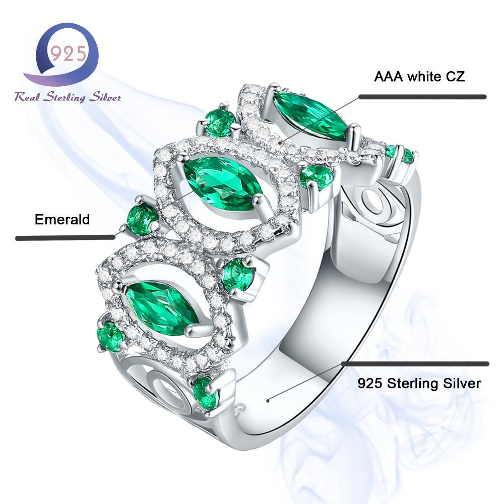 Fashion Jewelry Brand Ring 1.14CT Lab-Created Gemstone - Alilight.net