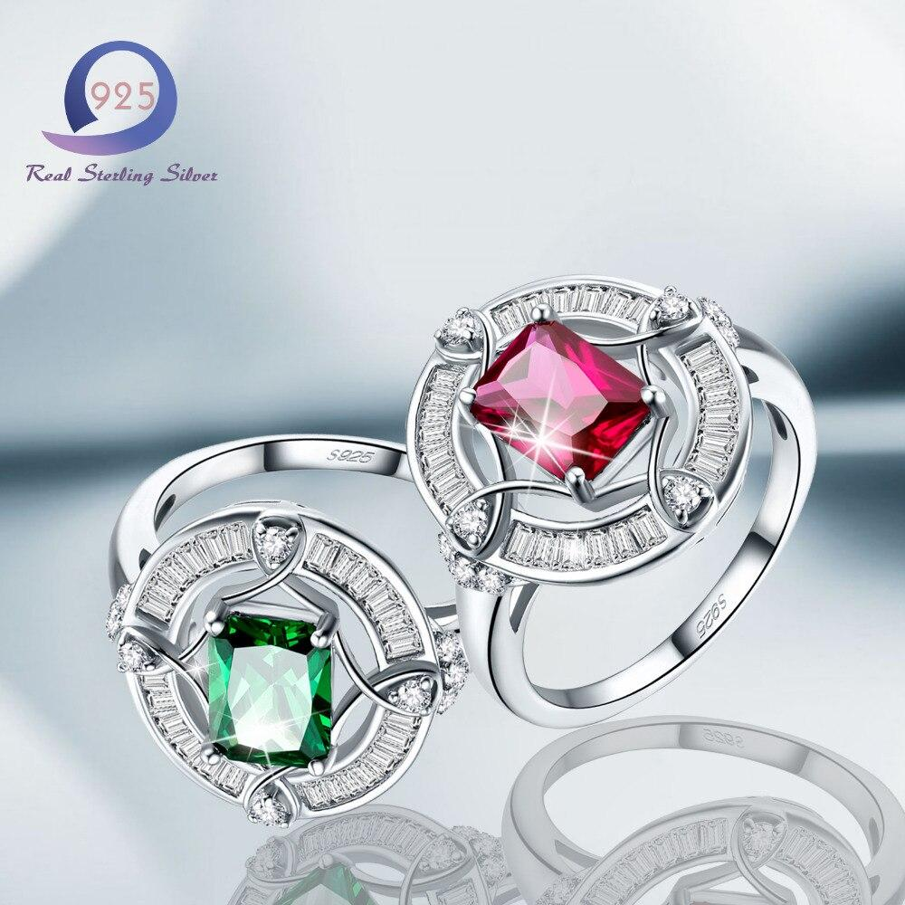 Fashion Jewelry Brand Ring Lab-Created Gemstone - Alilight.net