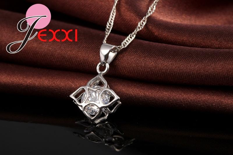 Lovely CZ Crystal Wedding Jewelry Sets Imitated Gemstone Jewelry - Alilight.net