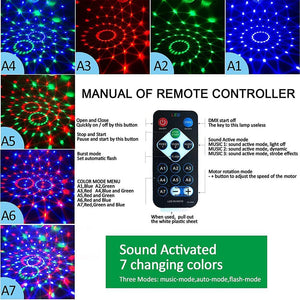 Led Disco Light Music Sound Activated Stage Lights - Alilight.net