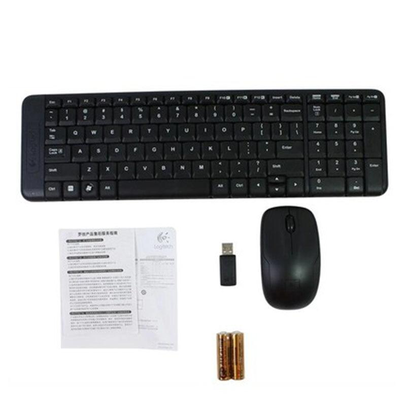 Wireless Keyboard & Mouse Combo Set play ful Lap Top Gamer true Optical - Alilight.net