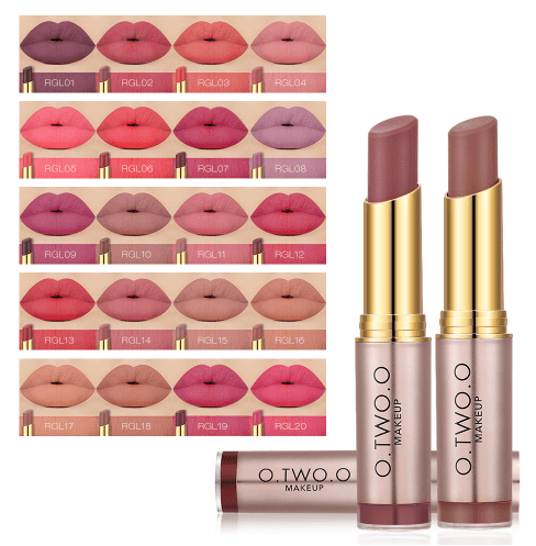 Beauty Makeup lipstick Popular Colors vintage perman ent Lip Kit - Alilight.net