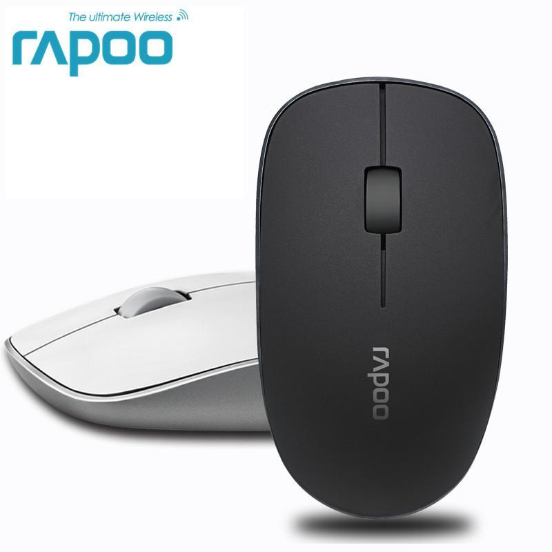 Wireless Optical Mouse Click Noiseless slender Mice 1000 DPI for Mac PC Laptop - Alilight.net