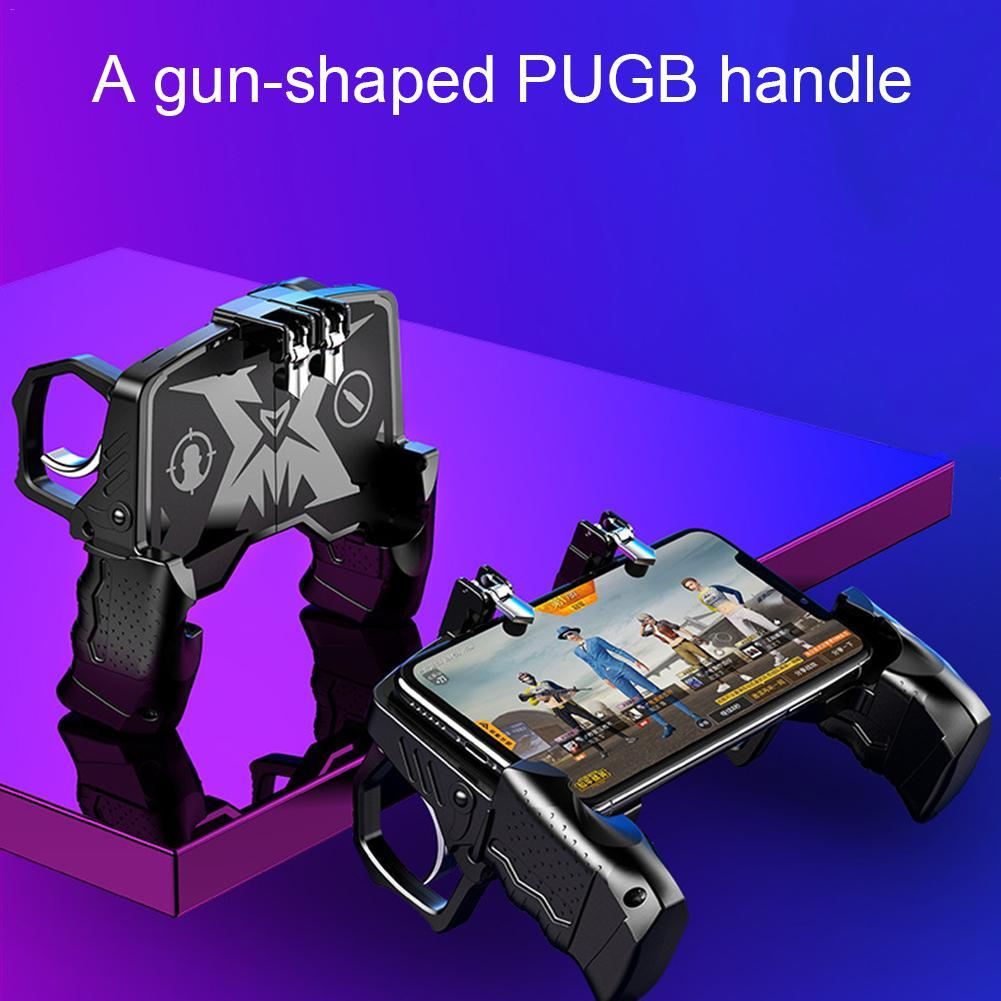 Pubg Gamepad For Mobile Phone Game Shooter Trigger Fire Button - Alilight.net