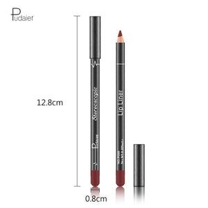 12pcs/set Lip Beauty Makeup Free Pencil Sharpener Lip Stick Lip Liner - Alilight.net
