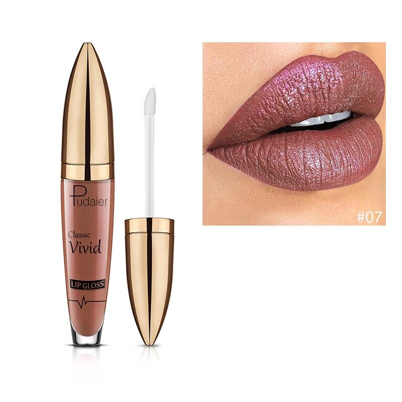18 Color Changing Glitter Lipstick Liquid Metallic Lip Gloss - Alilight.net