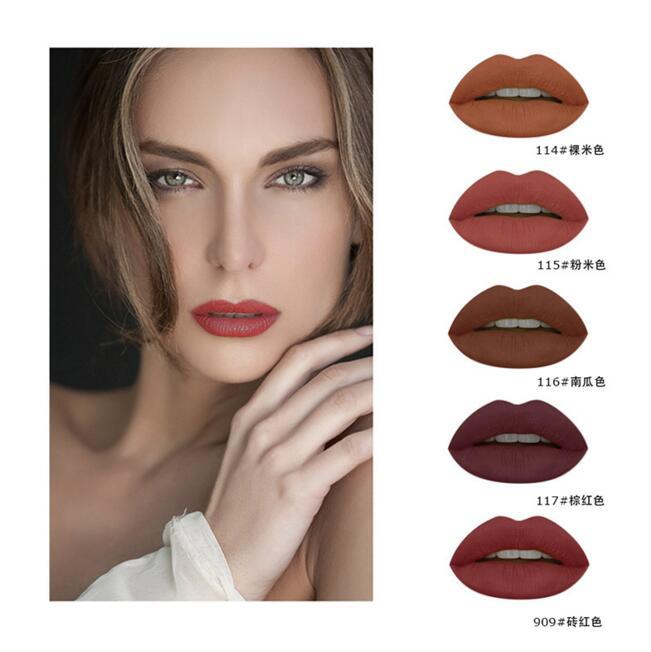 High Quality Sexy Lipgloss Pumpkin Color Series Liquid - Alilight.net