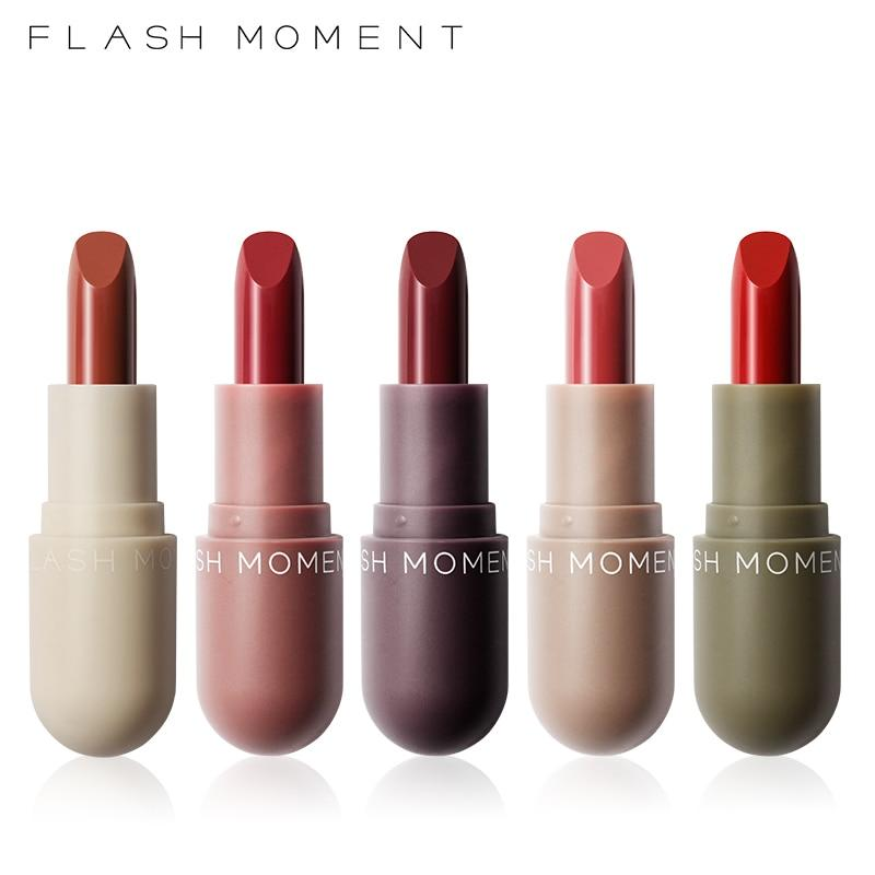 New Capsule Lipstick Sample Gift Box 5pcs/box Long Lasting Matte - Alilight.net