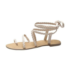 Summer Women Ladies Sandals Lace Up Sandals Female - Alilight.net
