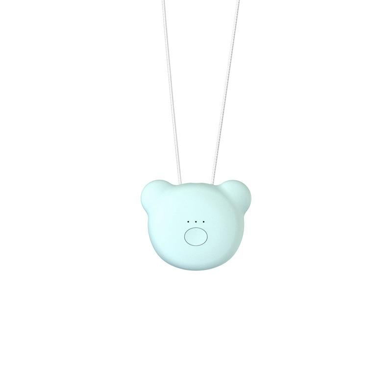 Wearable Air Purifier Necklace Mini Portable USB Air Cleaner Negative - Alilight.net