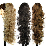 Wig horsetail claw clip curly hair ponytail an and American fashion ladies Mawei - Alilight.net