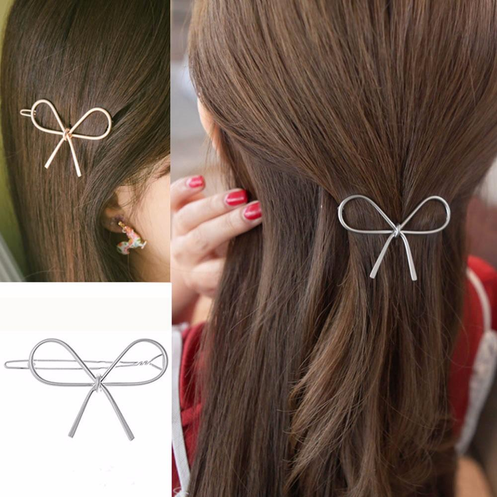 Women's Lovish Style Hair Add-Ons Openwork Butterfly Hairpin - Alilight.net