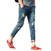 Men Denim Jeans Long Pant - Alilight.net