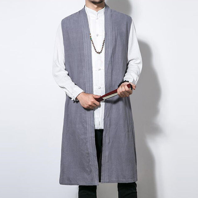 Men Cardigan Vest Autumn Outwear - Alilight.net
