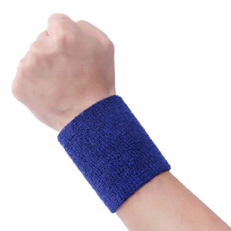 Wrist Sweatbands Tennis Squash Badminton GYM Wristband Gift - Alilight.net
