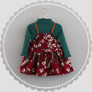 Bear Leader Baby Girls Dress New Autumn Cute - Alilight.net