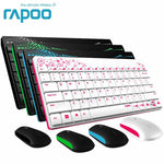 Multi-Media short Wireless Keyboard & Mouse Combos for PC Mac Laptops Desktops - Alilight.net