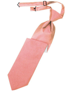 Coral Reef Luxury Satin Necktie