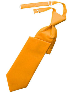 Mandarin Solid Twill Windsor Tie