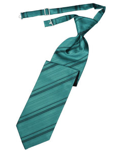 Oasis Striped Satin Necktie
