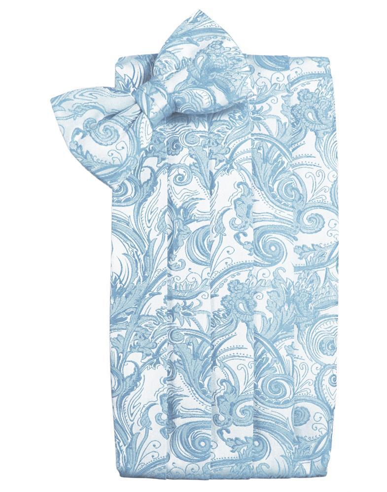 Light Blue Tapestry Cummerbund
