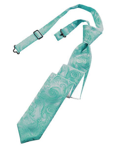 Mermaid Tapestry Skinny Necktie