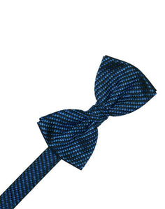 Royal Blue Venetian Bow Tie