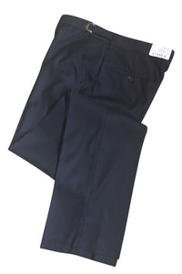 """Ethan"" Black Super 150's Luxury Viscose Blend Suit Pants"