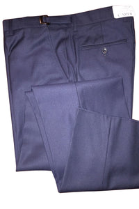 """Ethan"" Navy Super 150's Luxury Viscose Blend Suit Pants"