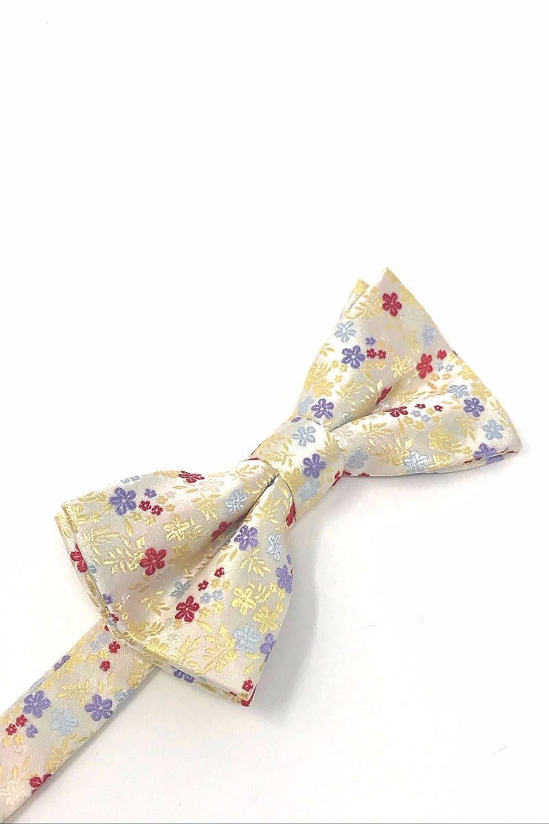 Yellow Enchantment Bow Tie