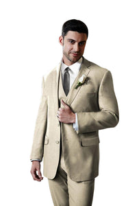 """Aspen"" Tan Suit Jacket (Separates)"