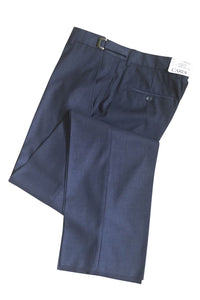 """Ethan"" Steel Grey Super 150's Luxury Viscose Blend Suit Pants"